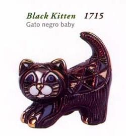 Rinconada gato negro Baby 1714/15 gato negro estirado