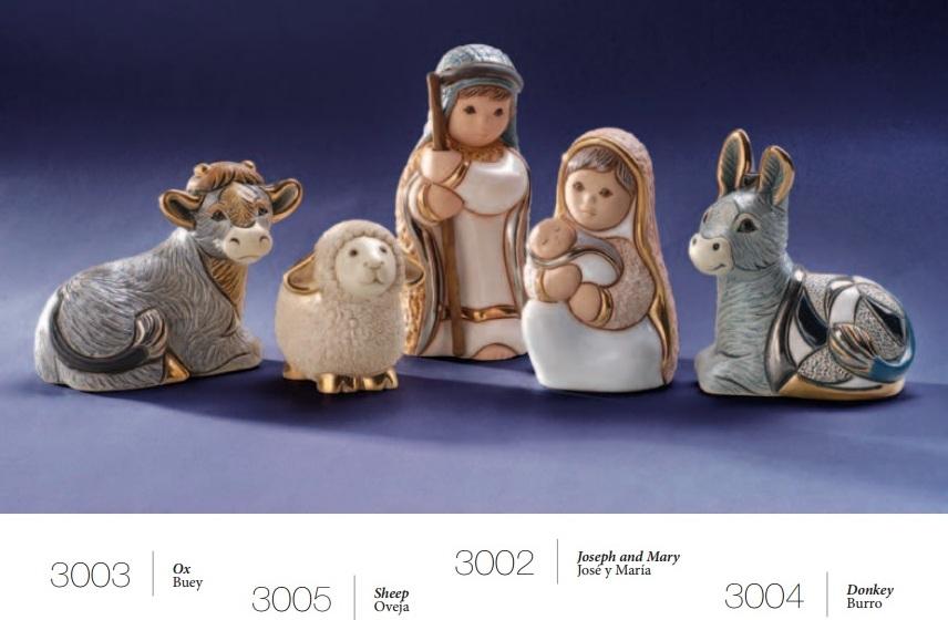 Sammlung Nativity - DeRosa Rinconada Weihnachts-Krippe komplett