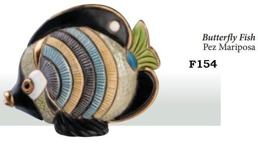 Family Butterfly Fish - DeRosa-Rinconada Butterfly fish. F154.