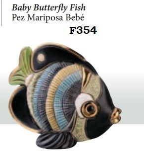 Family Butterfly Fish - DeRosa-Rinconada Baby Fish butterfly. F354