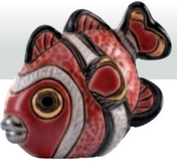 Familie von Anemonenfisch - DeRosa-Rinconada Clownfische Baby. F370