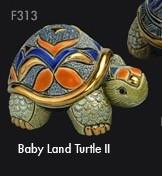 Rinconada - Familie der Landschildkröten Babylandschildkröte II f313