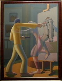 Angel Gustavo - Ilusión de pintor - Illusion of painter
