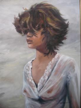 Carla Monti - Colpo di vento - Ráfaga de viento