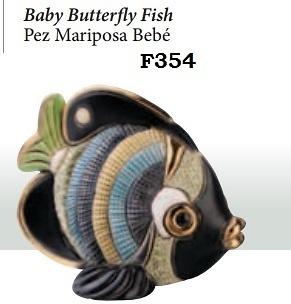 Pez mariposa bebé. F354.