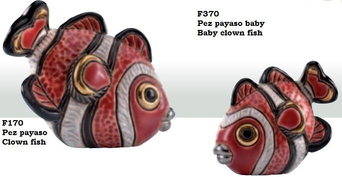 Familie von Clown Fish
