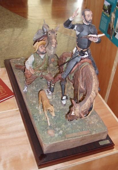 Jose Luís de Casasola - Quijote con Sancho