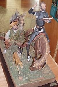 Jose Luís de Casasola - Quijote mit Sancho