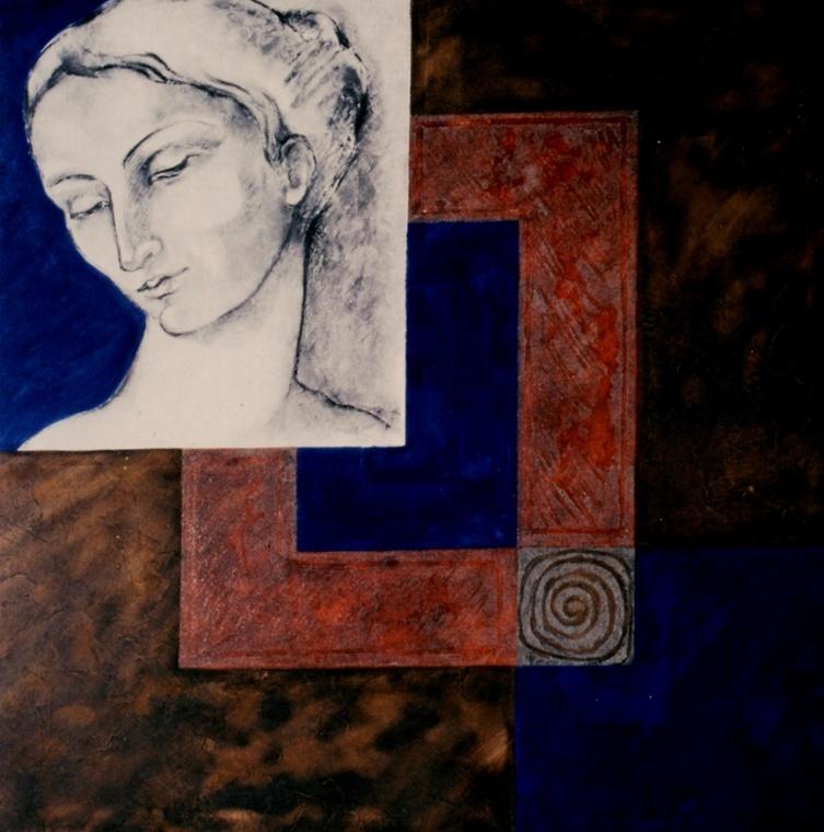 Montserrat Faura - Blau Quartär 3