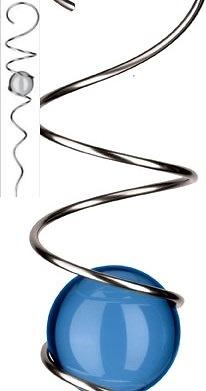 Spiral Magie mit Kugel - Wind Mobile und Spirale