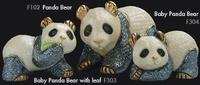 Bear panda family - DeRosa Rinconada