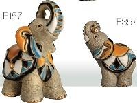 Familia de elefantes asiáticos - DeRosa Rinconada