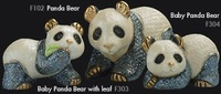 Familia de osos panda - DeRosa Rinconada