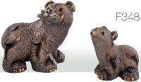 Familia de osos pardos. DeRosa-Rinconada