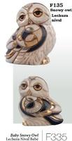 Family of snowy owls. DeRosa-Rinconada.