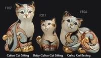 Rinconada - Familia de gatos calico