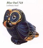 Rinconada blaue Eule Jahrestag 723