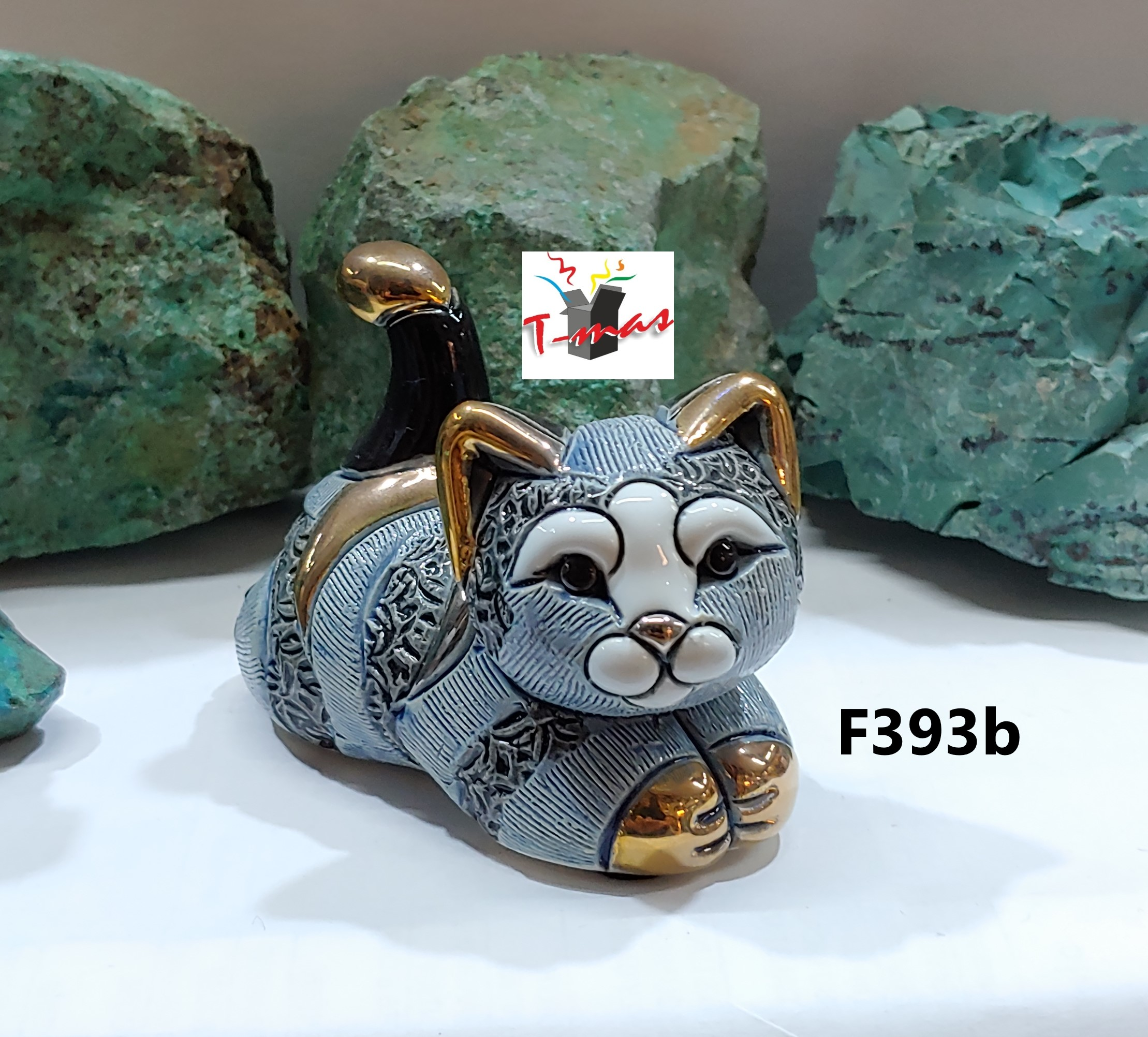 Familia de gatos a rayas - DeRosa Rinconada F393b