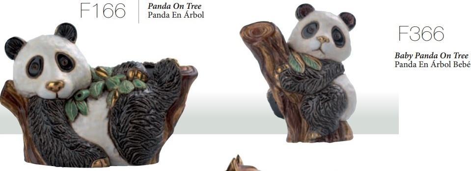 Familia de osos panda 2014 - DeRosa-Rinconada Familia de pandas