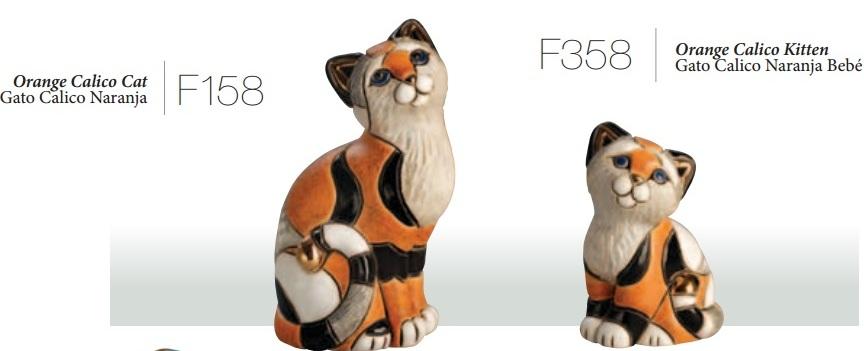 Familia de gatos calico - DeRosa-Rinconada Familia de gatos calico