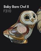 Family of barn owl - DeRosa Rinconada Baby owl II f310