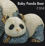 Familia de osos panda - DeRosa Rinconada oso panda baby f304