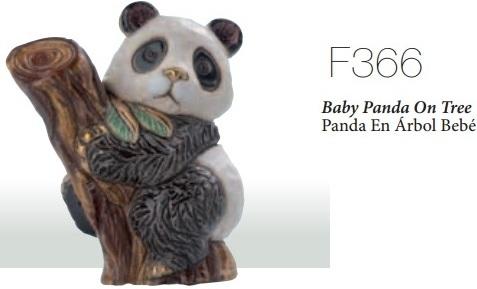 Familia de osos panda 2014 - DeRosa-Rinconada Oso panda bebé, F366