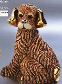 Familia de perros marrones - DeRosa Rinconada Perro marrón F189