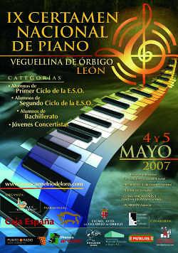 IX Certamen Nacional de Piano