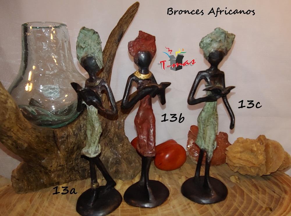 African women reading - African Bronzes