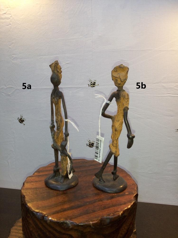 Afrikanische Bronzefiguren -