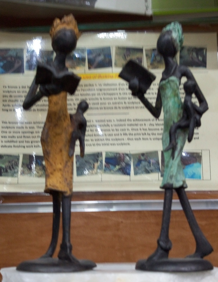 African bronzes -