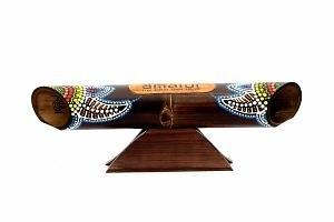 Altavoz-bambú-pintado