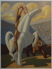 Angel Gustavo - Rejoneo - Zu Pferde kämpfer