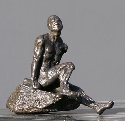 Arte Moreno - Man on the rock