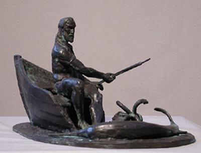 Arte Moreno - Pescador