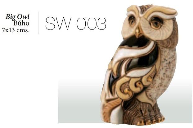 Big owl, SW003. DeRosa Rinconada.