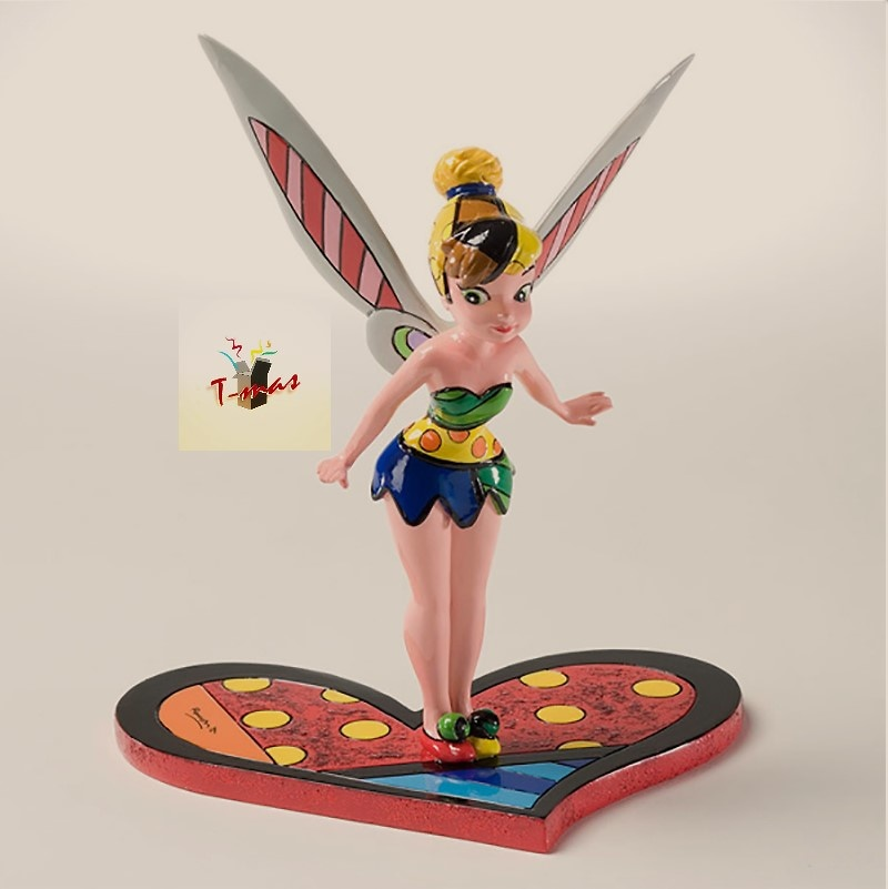 Campanita sobre corazón - Colección Disney