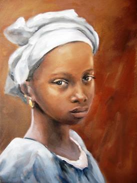Carla Monti - Bambina del Mali - Niña de Mali
