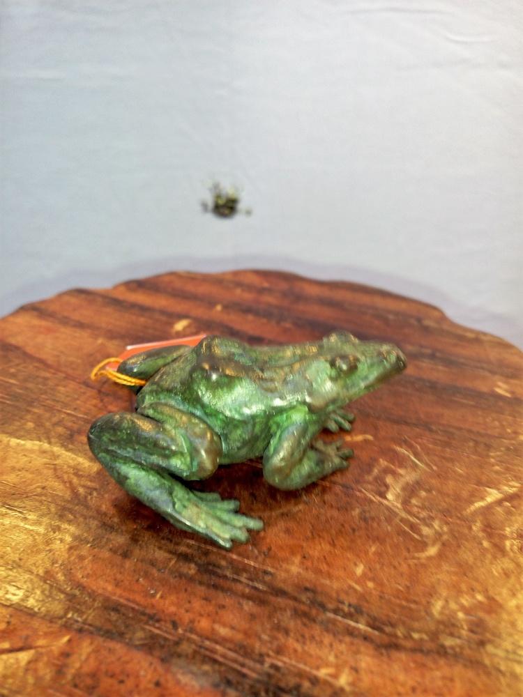 Estudio de Arte Moreno - Rana de bronce