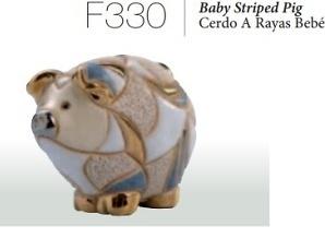 Cerdo rayado bebé. F330