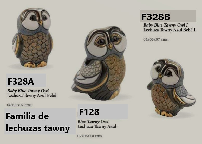 Familia de lechuzas tawny - DeRosa-Rinconada