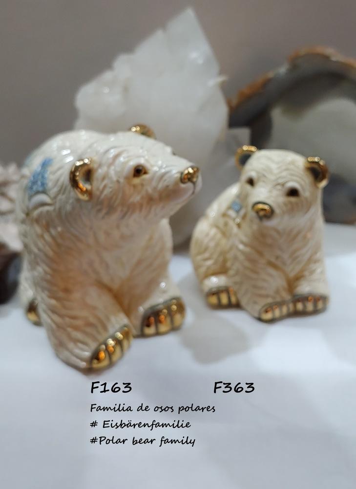 Familia de osos polares - Rinconada DeRosa