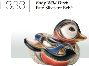 Pato salvaje bebé- F333