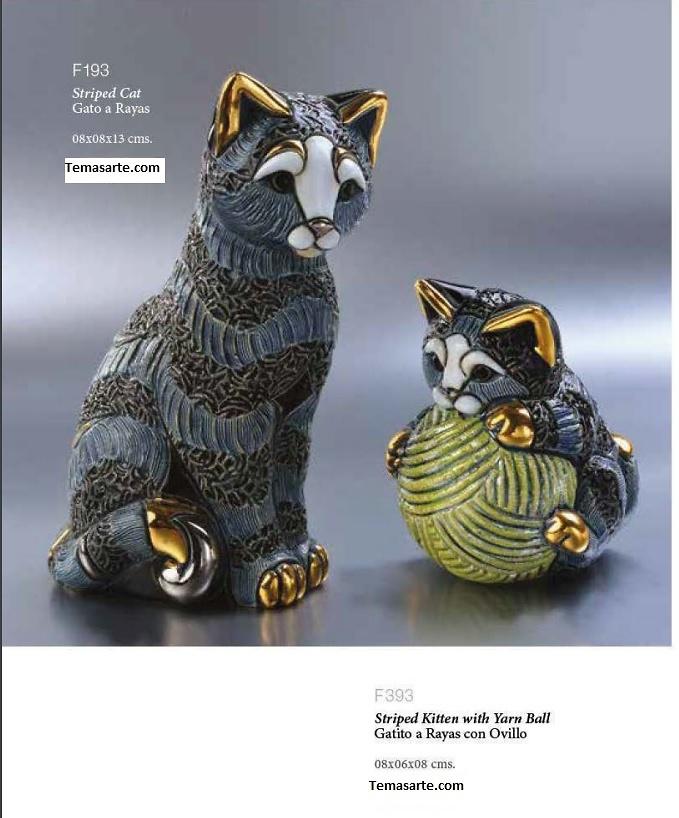 Gestreifte Katze Familie - DeRosa Rinconada
