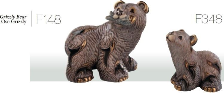 Familie von Grizzlybären. DeRosa-Rinconada.