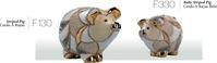 Familien striped Schweine. DeRosa-Rinconada.