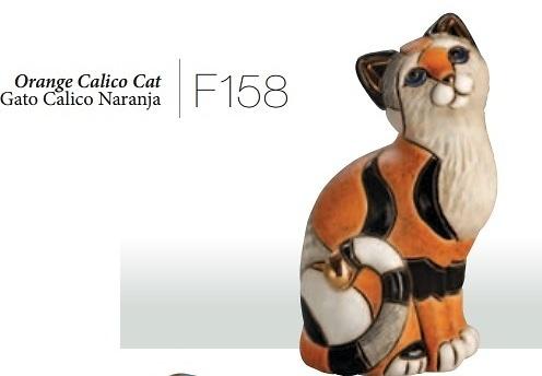 Calico cat F158