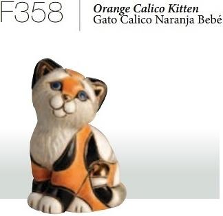 Calico cat baby, F358