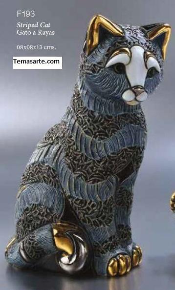 Striped cat F193 - DeRosa Rinconada
